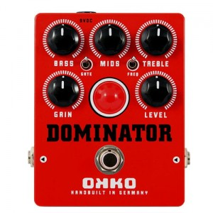 OKKO Dominator MkII Red Distortion