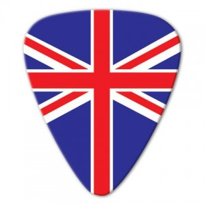 Kostka gitarowa Grover Allman World Flags UK .80mm