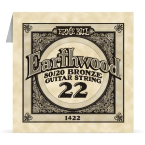 Struna .022 owijana Ernie Ball Earthwood 80/20 Bronze Acoustic (1422)