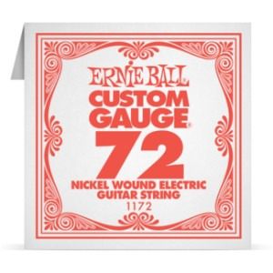 Struna .072 owijana Ernie Ball Nickel Wound Electric (1172)