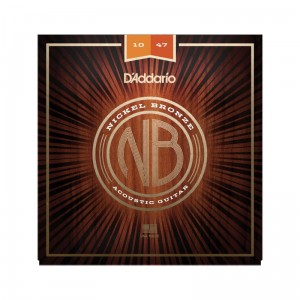 Struny D'Addario Nickel Bronze 10-47