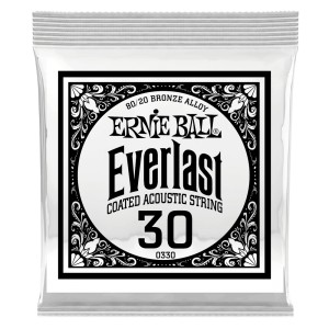 Struna Ernie Ball Everlast Coated 80/20 Bronze Acoustic .030