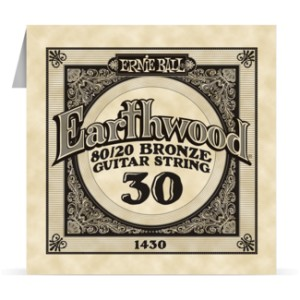 Struna .030 owijana Ernie Ball Earthwood 80/20 Bronze Acoustic (1430)