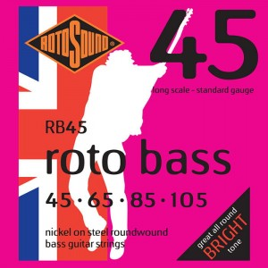 Struny Rotosound Roto Bass Nickel on Steel 45-105 (RB45)