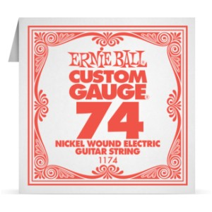 Struna .074 owijana Ernie Ball Nickel Wound Electric (1174)