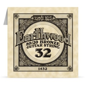 Struna .032 owijana Ernie Ball Earthwood 80/20 Bronze Acoustic (1432)