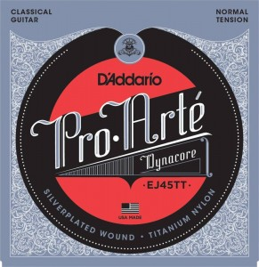 Struny D'Addario EJ45TT Pro-Arte Dynacore Normal Tension