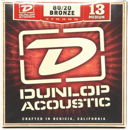 Struny Dunlop Acoustic Medium 80/20 Bronze 13-56