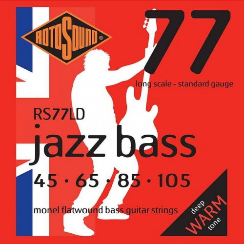 Struny Rotosound Jazz Bass Monel Flatwound 45-105 (RS77LD)