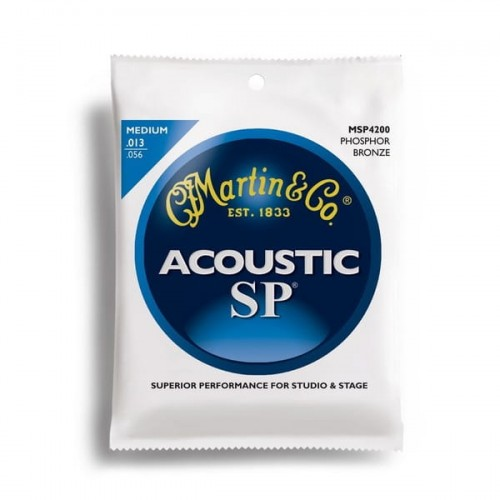 Struny Martin Acoustic SP 92/8 Phosphor Bronze Medium 13-56 MSP4200