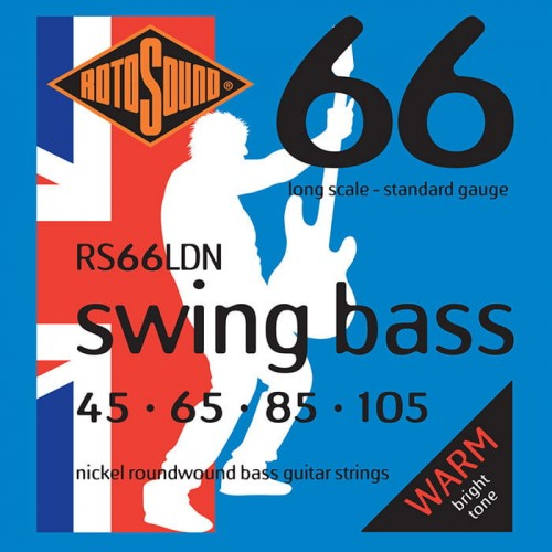 Struny Rotosound Swing Bass Nickel 45-105 (RS66LDN)