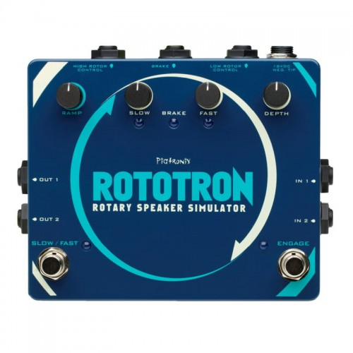Pigtronix Rototron Analog Rotary Speaker Effect Modulation