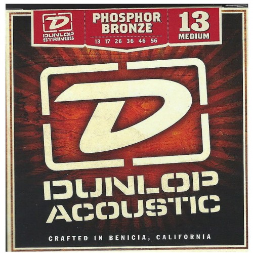 Struny Dunlop Acoustic Medium Phosphor Bronze 13-56