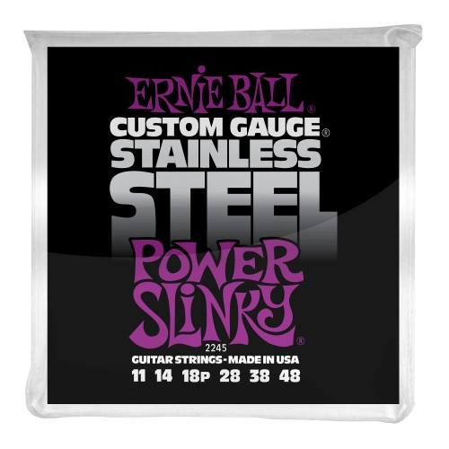 Struny Ernie Ball Regular Slinky Stainless Steel Wound 11-48