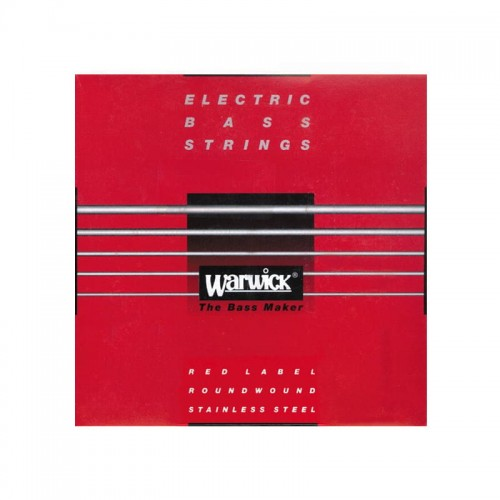 Struny Warwick Red Electric Bass Roundwound Stainless Steel 40-100