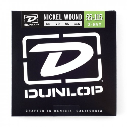 Struny Dunlop Nickel Plated Bass 55-115 DBN55115