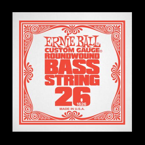 Struna .026 do gitary basowej Ernie Ball Bass Roundwound 1626