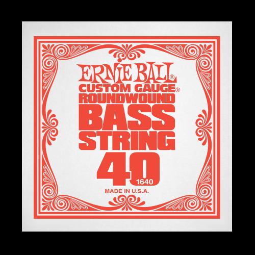 Struna .040 do gitary basowej Ernie Ball Bass Roundwound 1640