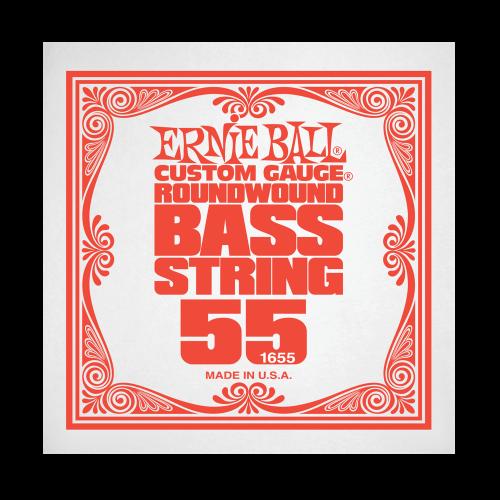 Struna .055 do gitary basowej Ernie Ball Bass Roundwound 1655