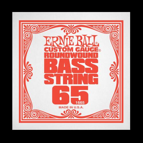 Struna .065 do gitary basowej Ernie Ball Bass Roundwound 1665