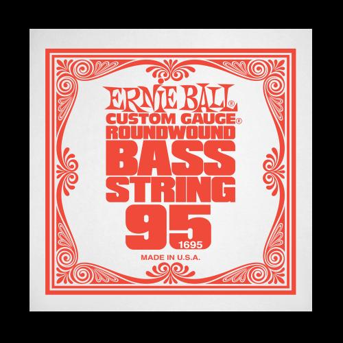 Struna .095 do gitary basowej Ernie Ball Bass Roundwound 1695