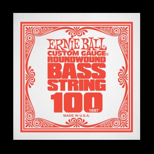 Struna .100 do gitary basowej Ernie Ball Bass Roundwound 1697