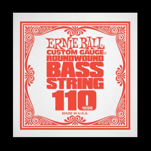 Struna .110 do gitary basowej Ernie Ball Bass Roundwound 1699