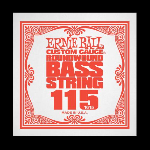 Struna .115 do gitary basowej Ernie Ball Bass Roundwound 1615