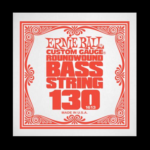 Struna .130 do gitary basowej Ernie Ball Bass Roundwound 1613