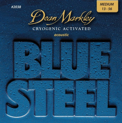Struny Dean Markley Blue Steel Acoustic 13-56