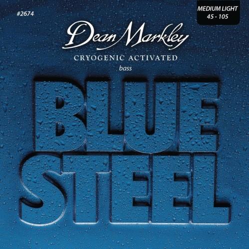 Struny Dean Markley Blue Steel Bass 45-105 (DM2674)
