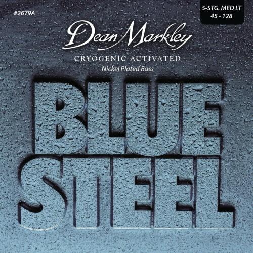 Struny Dean Markley Blue Steel NPS Bass 45-128 DM2679A