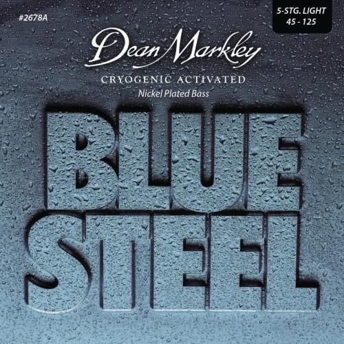 Struny Dean Markley Blue Steel NPS Bass 45-125 DM2678A