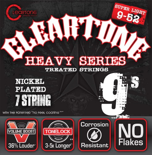 Struny Cleartone Monster Heavy Series Electric 7-strings 9-52