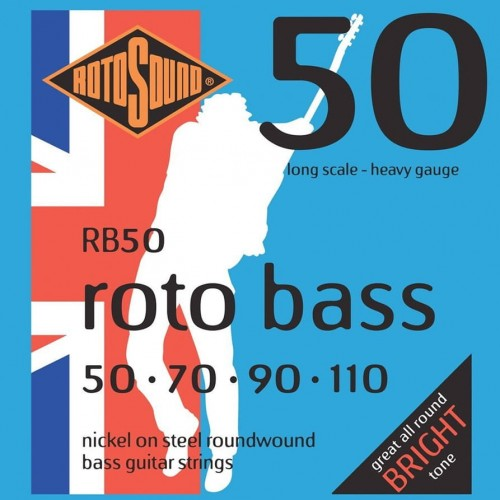 Struny Rotosound Roto Bass Nickel on Steel 50-110 (RB50)