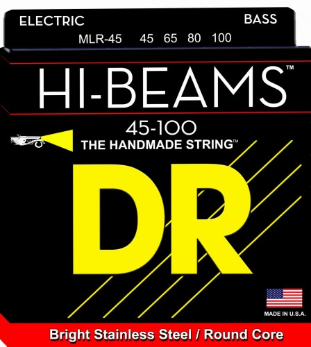 Struny DR Hi-Beams™ Stainless Steel Round Core 45-100 (MLR-40)