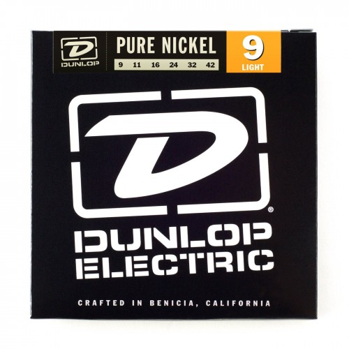 Struny Dunlop Electric Light Pure Nickel 9-42