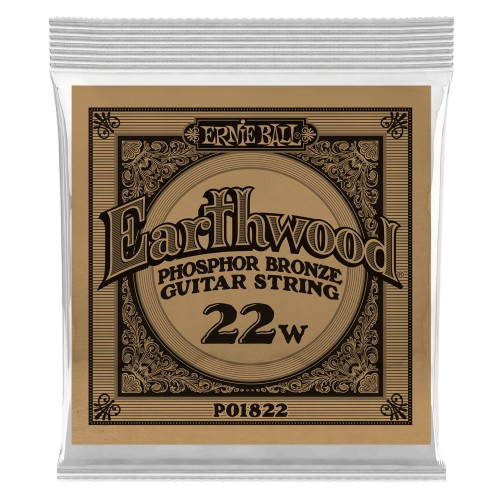 Struna .022 owijana Ernie Ball Earthwood Phosphor Bronze Acoustic