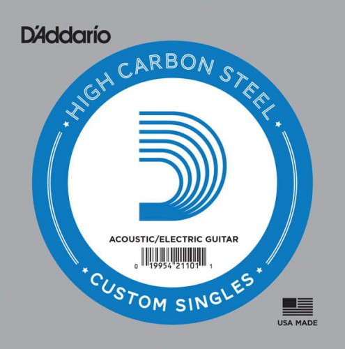 Struna pojedyncza D'Addario Single Plain Steel