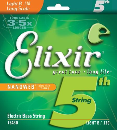 Struna Elixir NanoWeb .130L basowa B-6 Light (15430)