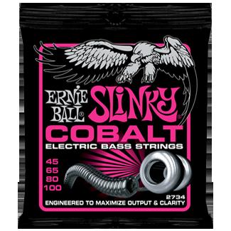 Struny Ernie Ball Cobalt Super Slinky Bass 45-100 (2734)