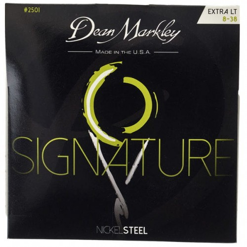 Struny Dean Markley Nickel Steel Electric Signature Extra Light 8-38