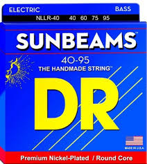 Struny DR Sunbeams™ Premium Nickel Plated 40-95 (NLLR-40)