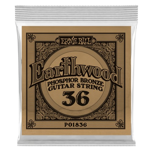 Struna .036 owijana Ernie Ball Earthwood Phosphor Bronze Acoustic
