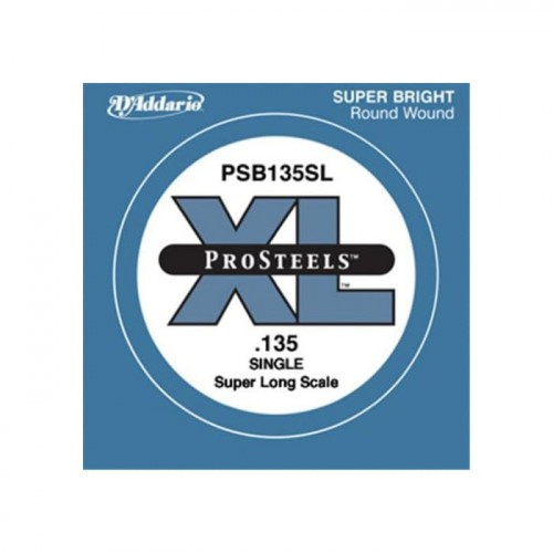 Struna D'Addario ProSteels .135 Super Long Scale PSB135SL