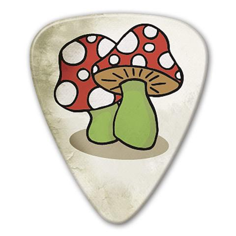 Kostka gitarowa Grover Allman Retro Mushrooms .80mm