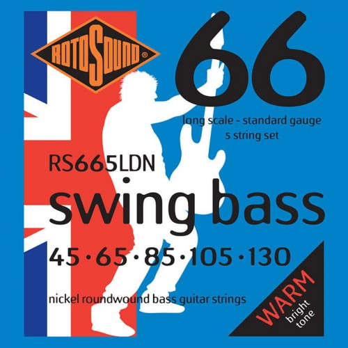 Struny Rotosound Swing Bass Nickel 5-strings 45-130 (RS665LDN)