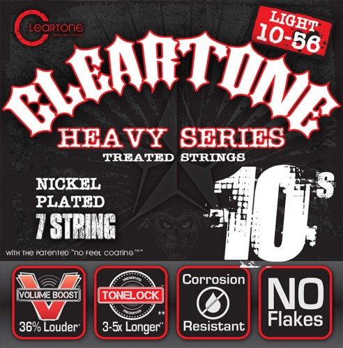 Struny Cleartone Monster Heavy Series Electric 7-strings 10-56