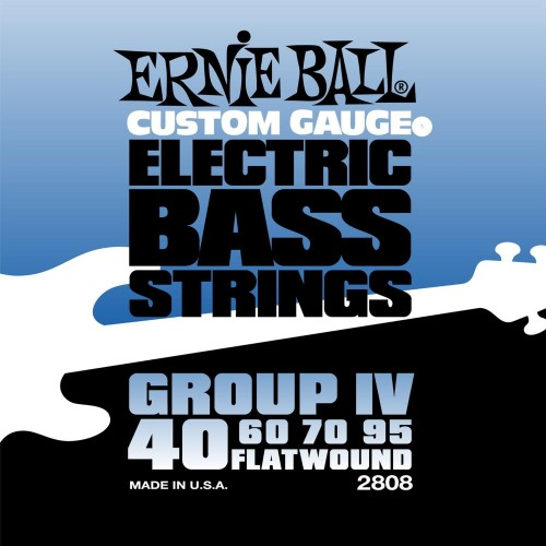 Struny Ernie Ball Flat Wound Group IV Electric Bass 40-95 (2808)