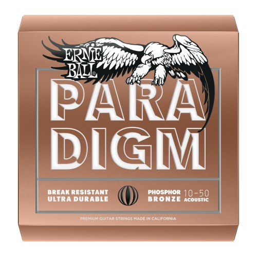 Struny Ernie Ball Paradigm Acoustic Phosphor Bronze 10-50 (2080)